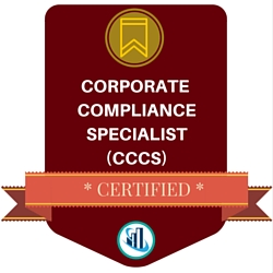 Certified Corporate Compliance Specialist (CCCS)™ Badge
