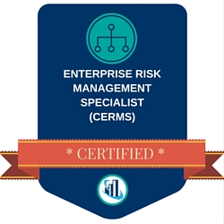 Certified Enterprise Risk Management Specialist (CERMS) digital badge