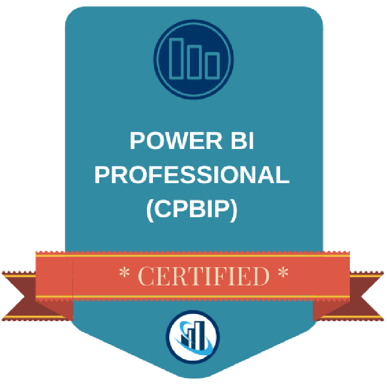 Certified Power BI Professional (CPBIP) Digital Badge